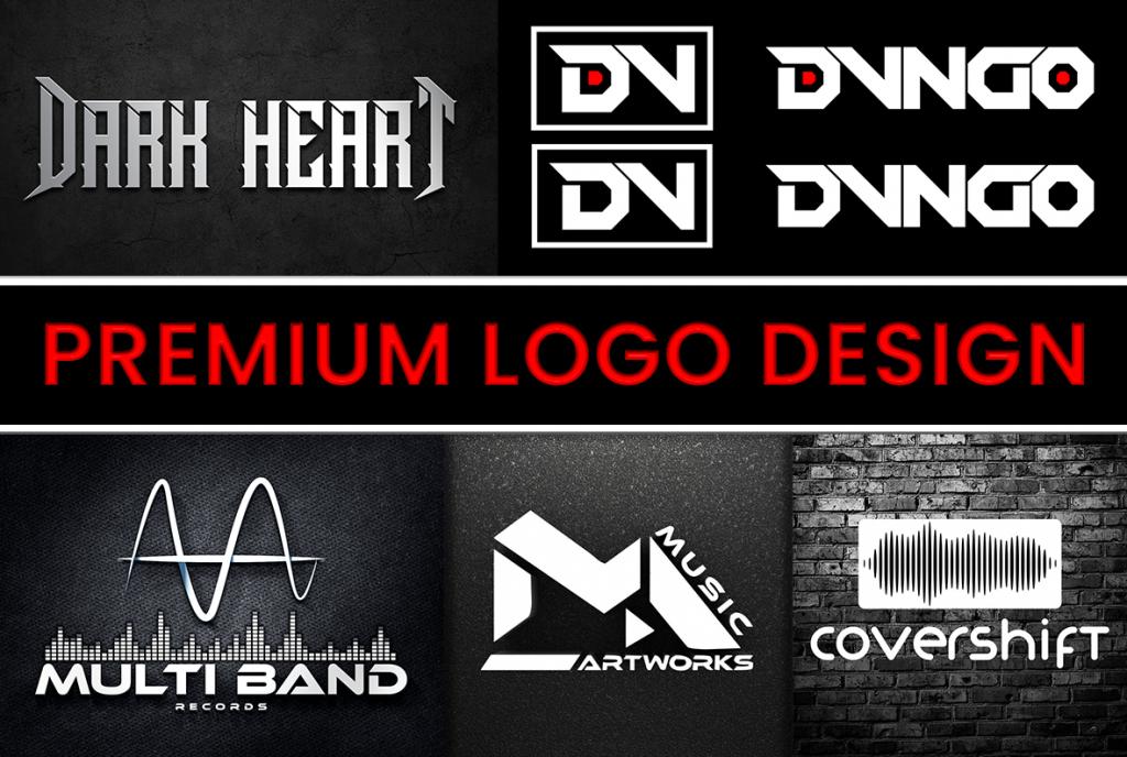 DJ Logo Design, Maker | Album Cover Band Logo for Sale | Music